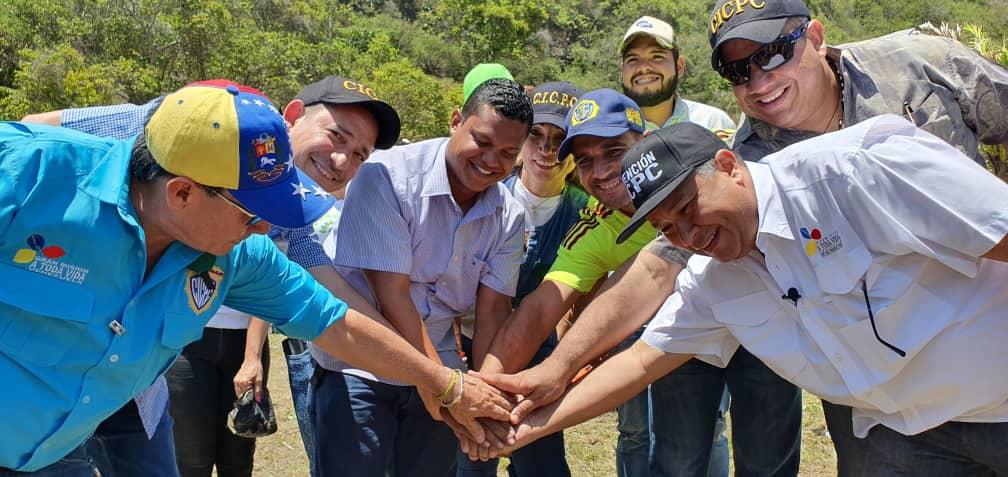 Cicpc inició Plan Nacional de Reforestación desde La Guiara (2)