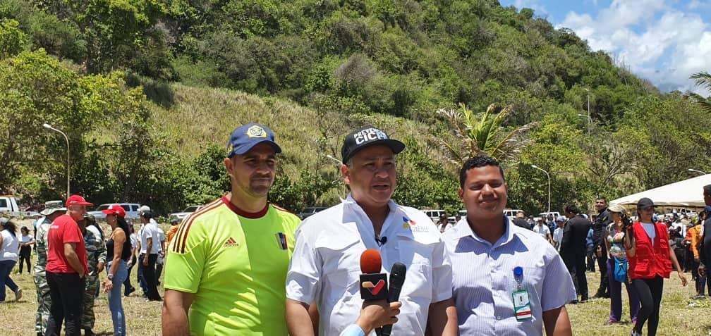 Cicpc inició Plan Nacional de Reforestación desde La Guiara (7)