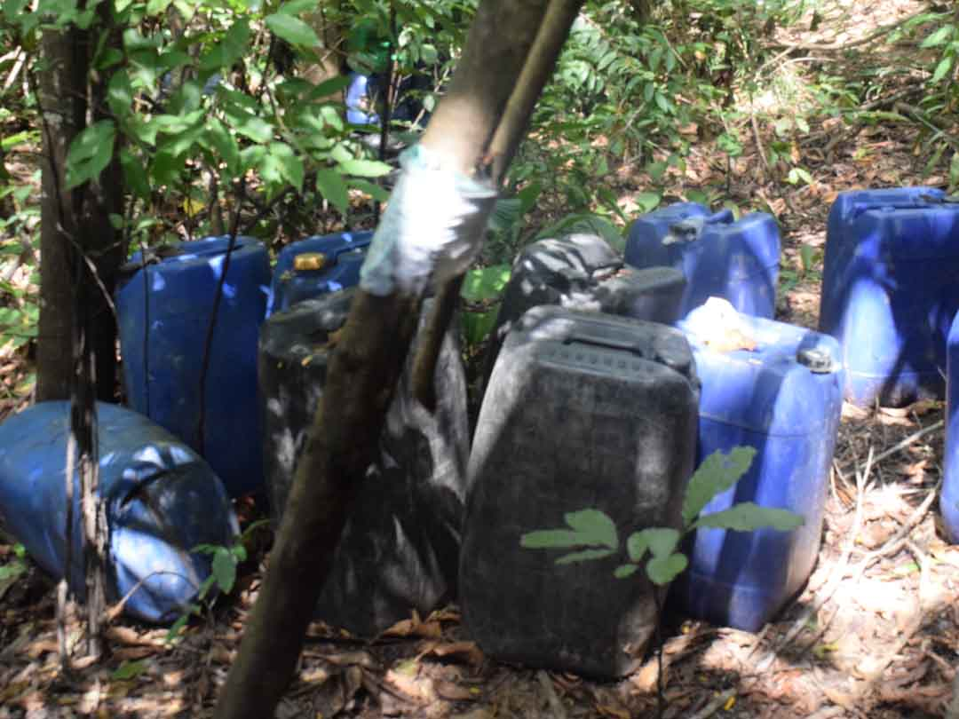 Desmantelados tres campamentos y 22 laboratorios con 11.211,262 kilogramos de cocaína (3)