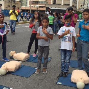 Frente Preventivo realiza abordaje integral a jóvenes en la parroquia Altagracia de Caracas (7)
