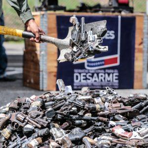 Mpprijp inutilizó 12 mil 921 armas de fuego en Caracas (2)