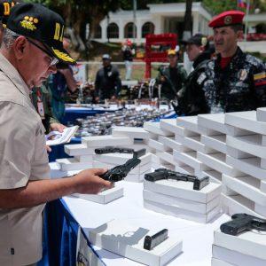 Mpprijp inutilizó 12 mil 921 armas de fuego en Caracas (8)