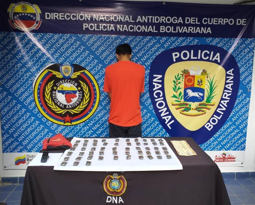 PNB incautó más de un kilo de droga en Miranda y Distrito Capital (1)