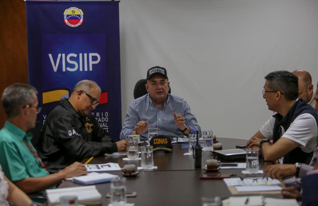 Visiip fortalecerá acciones estratégicas del Plan Nacional Antisecuestro (2)