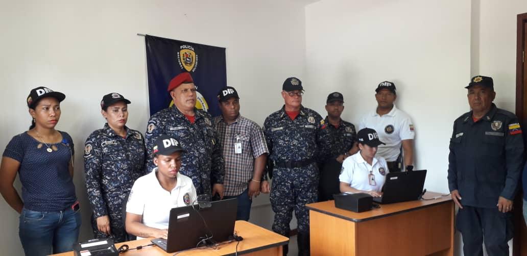 Visipol instala sistema biométrico que registrará actuaciones policiales por diferentes delitos (1)