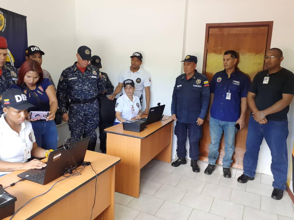 Visipol instala sistema biométrico que registrará actuaciones policiales por diferentes delitos (3)