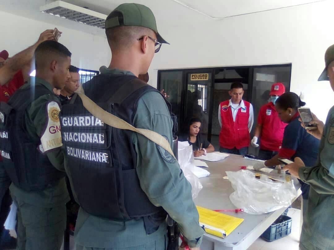 Incinerados más de 400 kilogramos de diferentes drogas en el territorio nacional (1)