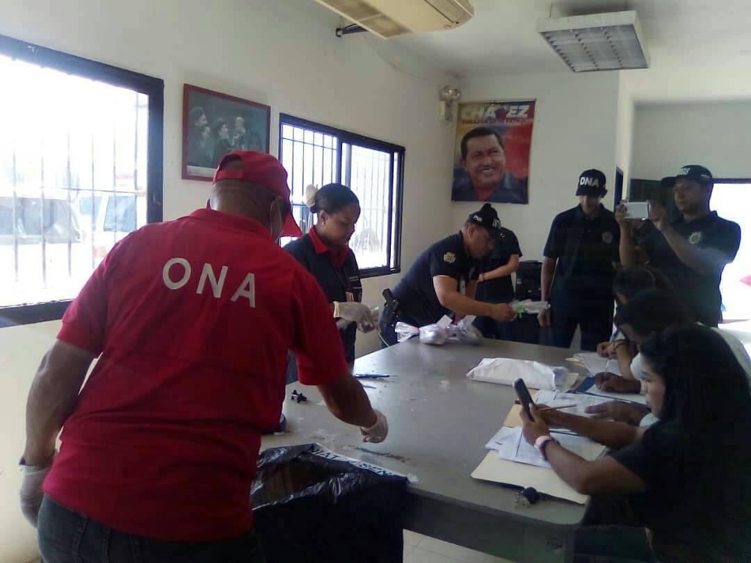 Incinerados más de 400 kilogramos de diferentes drogas en el territorio nacional (2)