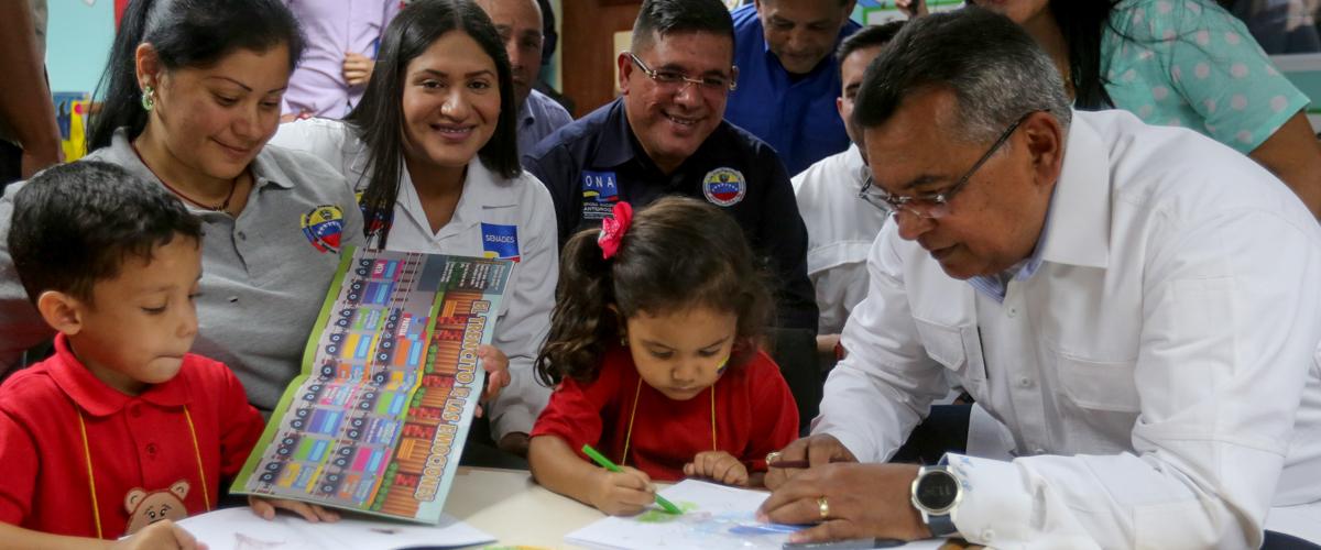 Más de 200 niños del CEIN Generalísimo Francisco de Miranda inician clases