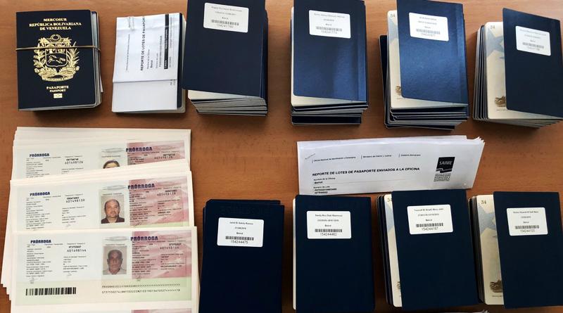 Saime entregó más de 52 mil documentos viajeros en lo que va de septiembre