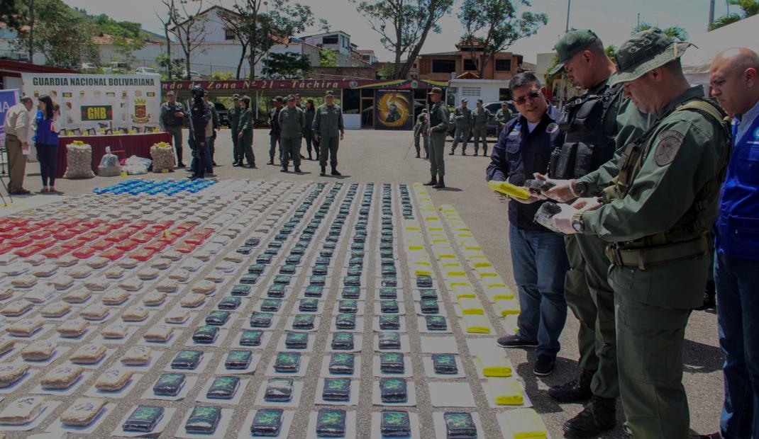 Gobierno nacional desmantela banda dedicada al tráfico ilícito de drogas (14)