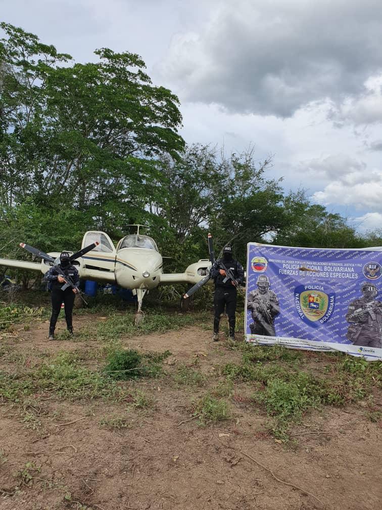 Gobierno nacional desmantela pistas clandestinas para el uso de tráfico ilícito de drogas (2)