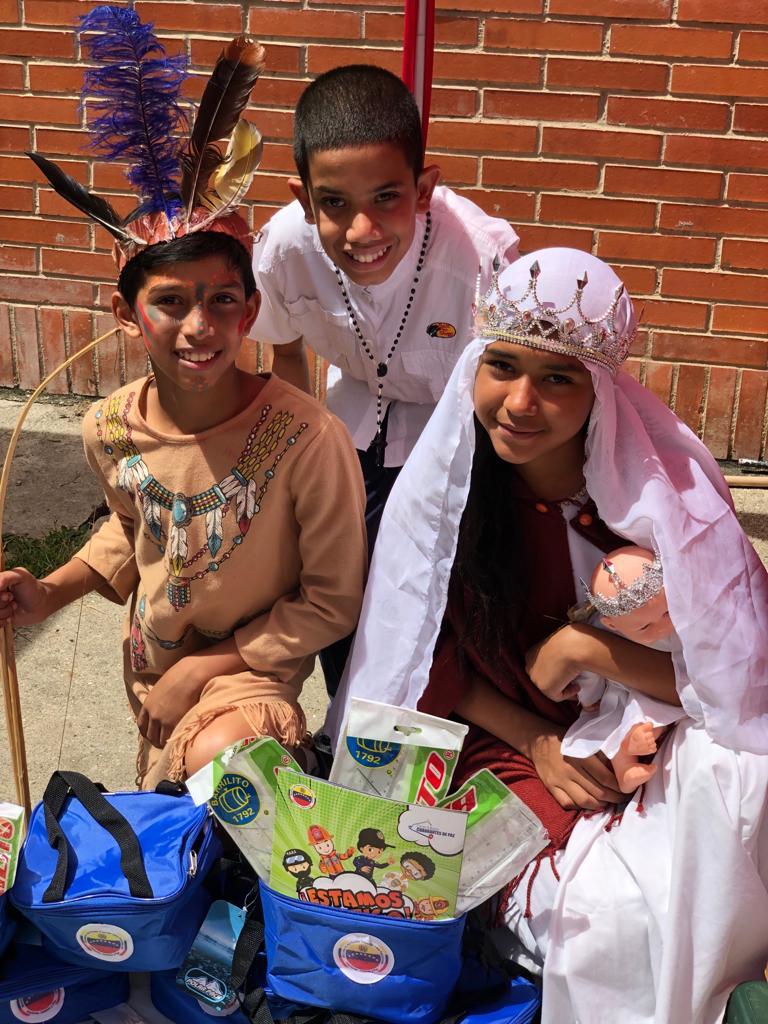 Parroquia Santa Rosalía celebra Día de la Resistencia Indígena con actividades culturales (1)