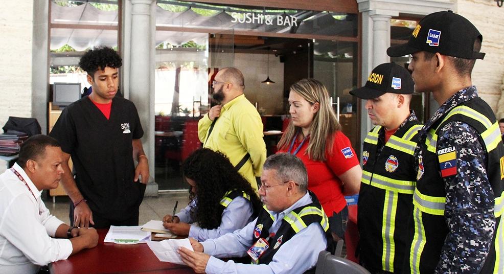 Control migratorio en hoteles del este de Caracas (1)