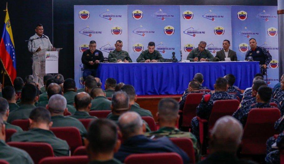 Ministro Reverol: Fortalecemos la Gmcp y sistema de alertas para garantizar seguridad y estabilidad del país