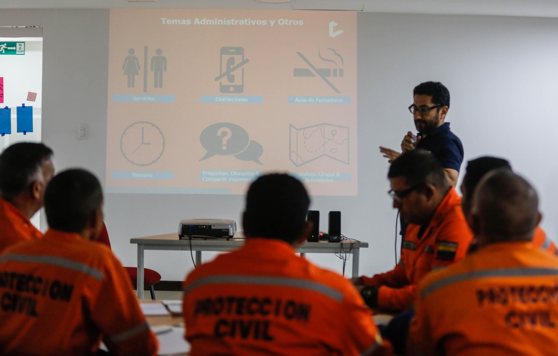 """Funcionarios de Protección Civil se capacitan en """"Logística para Emergencias y Desastres"""" (2)"""