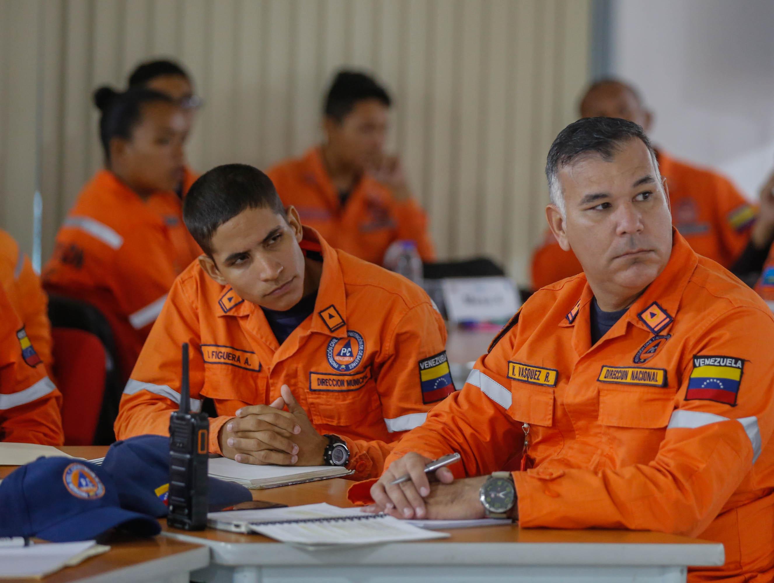 """Funcionarios de Protección Civil se capacitan en """"Logística para Emergencias y Desastres"""" (3)"""