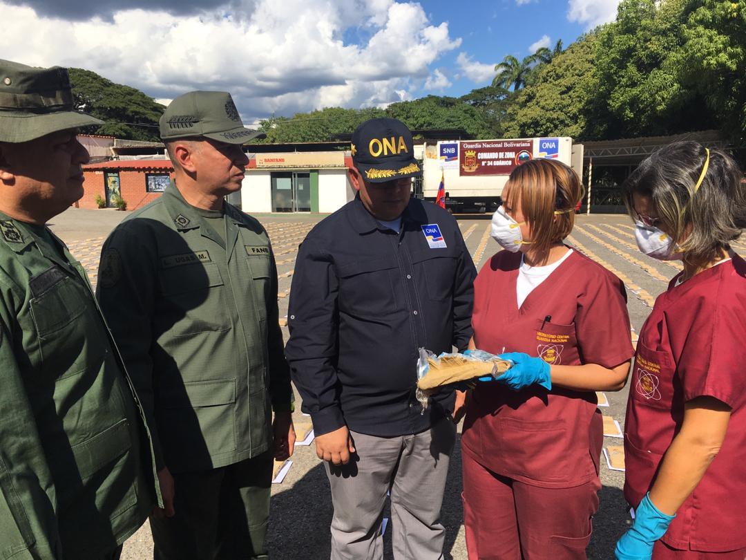 GNB incautó mil 594 panelas de marihuana en Guárico (1)