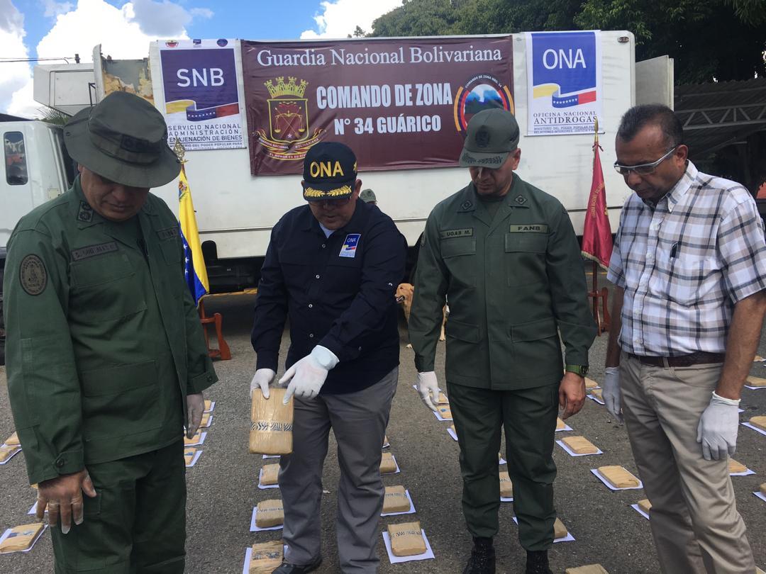 GNB incautó mil 594 panelas de marihuana en Guárico (8)