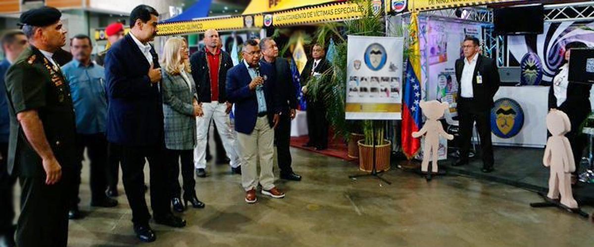 Presidente Nicolás Maduro inauguró la 6ta edición de la Expocriminalística 2019