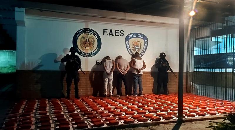 Incautados más de 110 kilos de presunta marihuana por las Faes