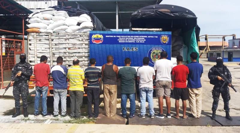 Incautados más de 41 mil kilos de material estratégico en Zulia y Bolívar
