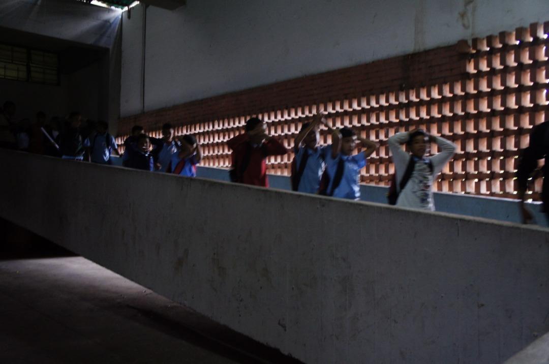 Simulacro de desalojo en escuela técnica de Coche promueve la cultura preventiva en estudiantes (5)
