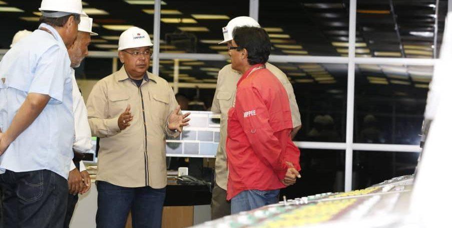 Gobierno nacional supervisa sistema de generación, distribución y transmisión en la Central Hidroeléctrica Guri
