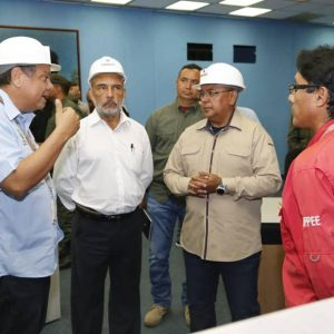 Gobierno nacional supervisa sistema de generación, distribución y transmisión en la Central Hidroeléctrica Guri (5)