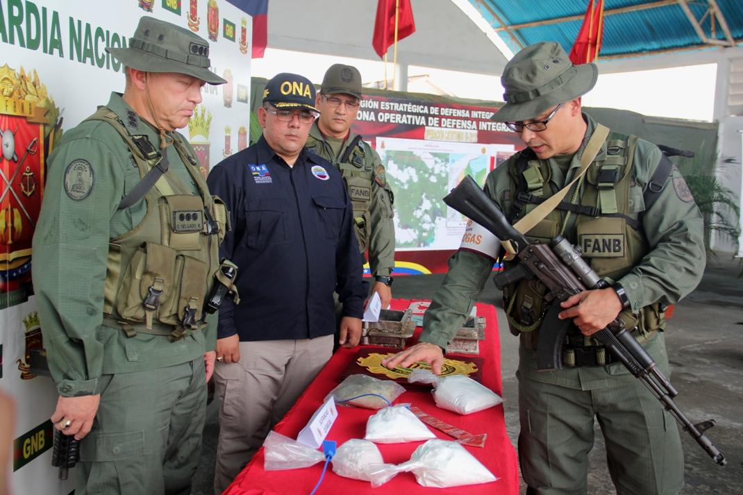 Desmantelan 16 laboratorios con  más de 7 toneladas de drogas en el Zulia