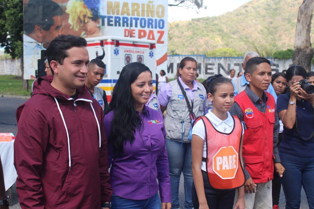 Juramentados más de 700 brigadistas de prevención integral en Aragua (2)