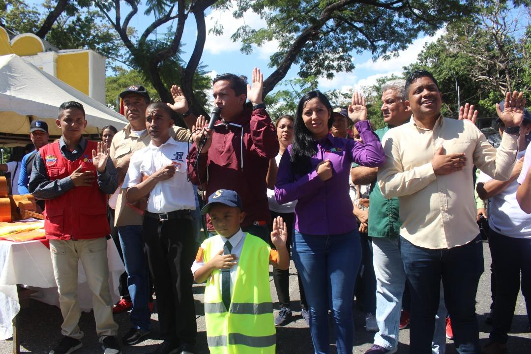 Juramentados más de 700 brigadistas de prevención integral en Aragua (7)