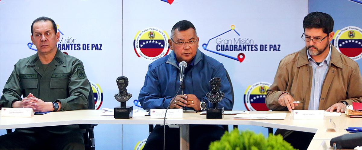 Ministro Reverol: Crearemos los Centros de Capacitación Naval y Aérea en la Unes