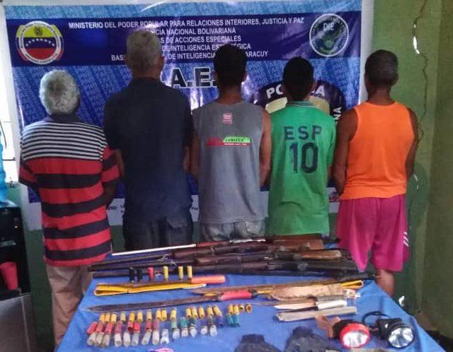 Recuperadas más de 2 mil municiones en los estados Bolívar y Yaracuy