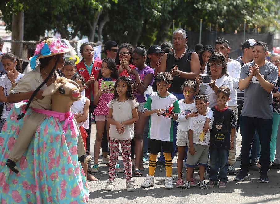 Toma Deportiva, Cultural y Recreativa por la Paz en La Pastora (1)