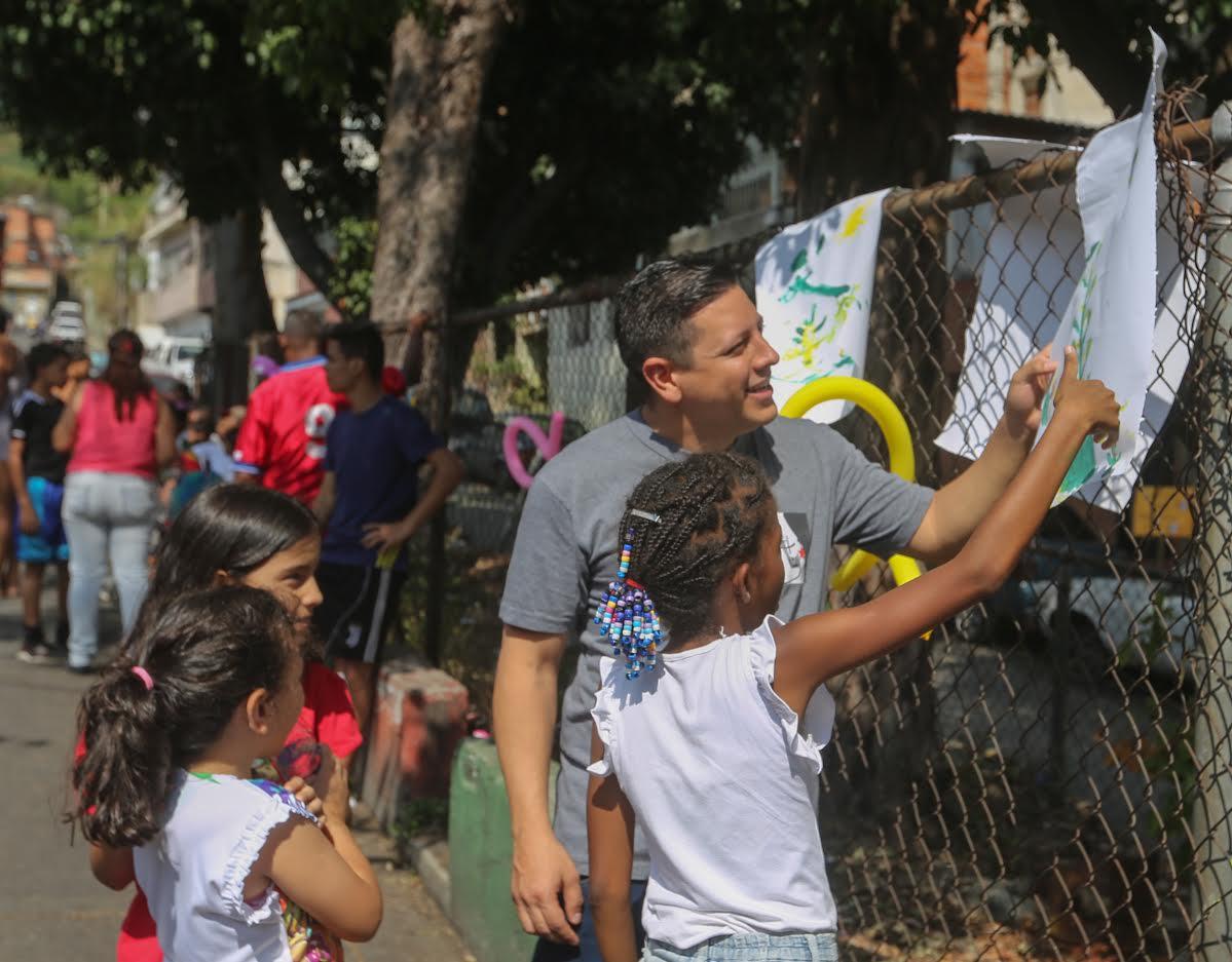 Toma Deportiva, Cultural y Recreativa por la Paz en La Pastora (2)