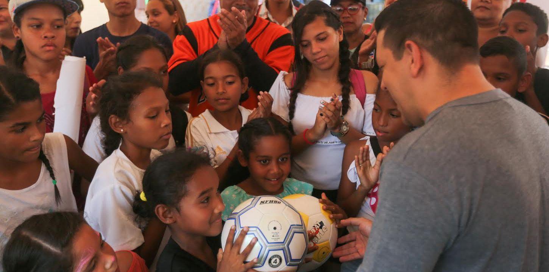 Toma Deportiva, Cultural y Recreativa por la Paz en La Pastora