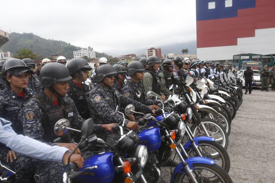 Desplegados 200 funcionarios para garantizar la seguridad en cuadrantes merideños