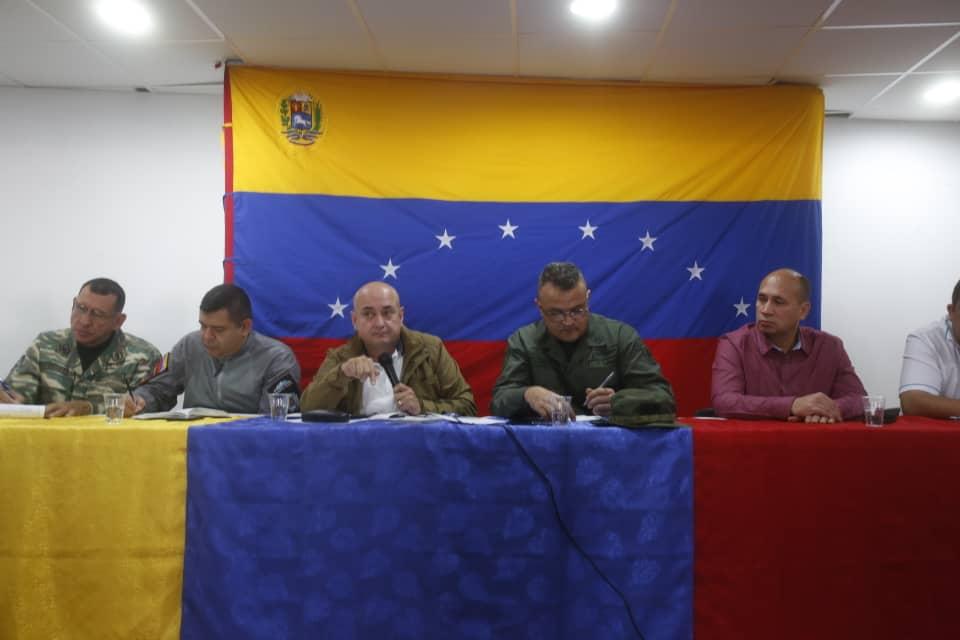 Activadas mesas técnicas para instalación del Estado Mayor de Servicios Públicos en Mérida