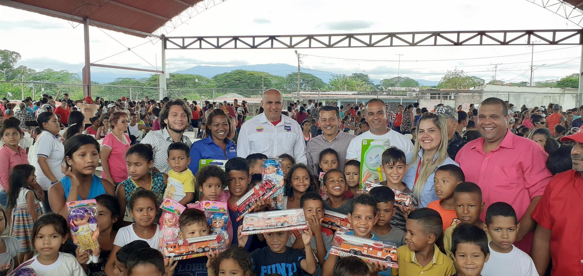 Frente Preventivo entregó juguetes a niños y niñas por el Día de los Reyes Magos en Yaracuy