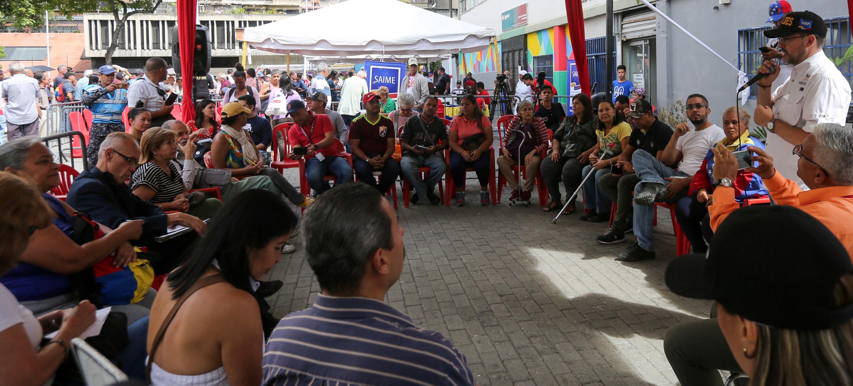 Frente Preventivo estudia propuestas para la parroquia La Candelaria en Caracas