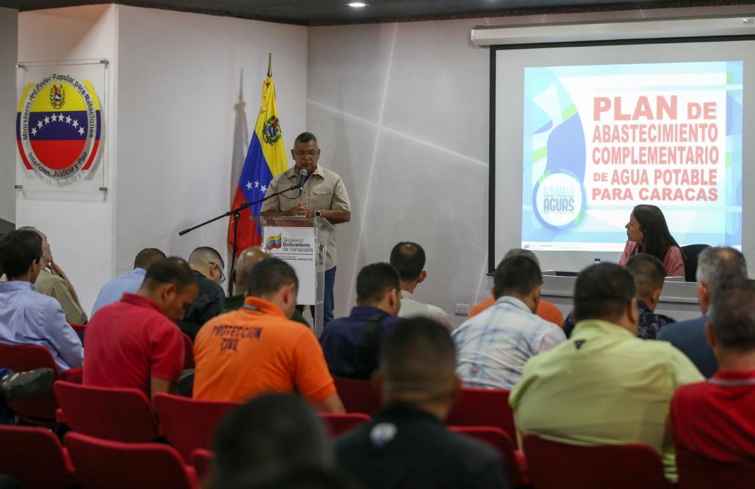 Autoridades diseñan Plan de Abastecimiento Complementario de Agua Potable en Caracas
