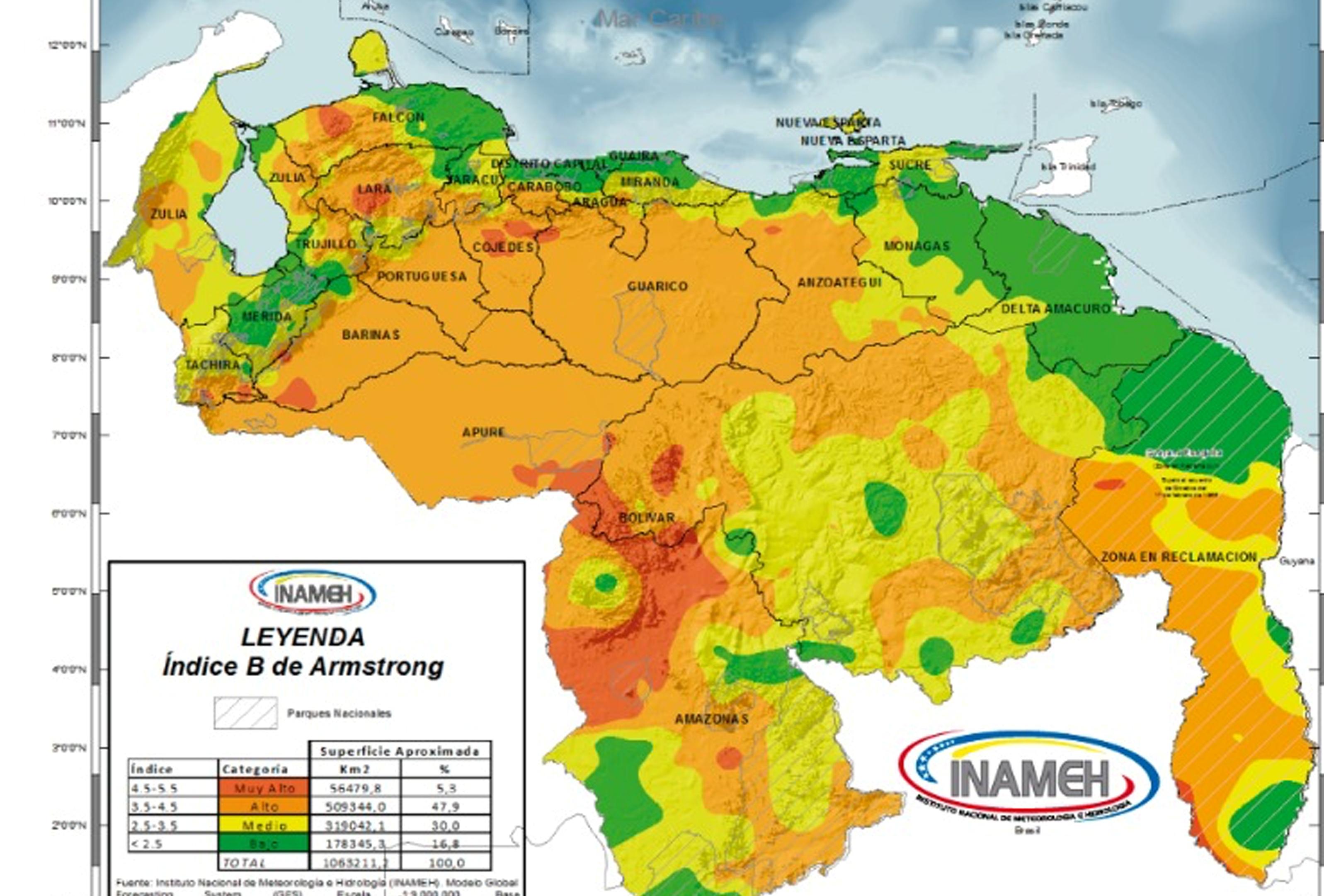 Boletines diarios emitirán datos sobre zonas vulnerables a incendios forestales