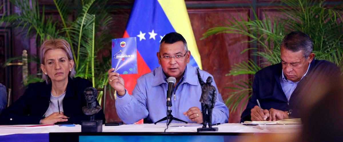 Instalado Estado Mayor de Servicios y Obras Públicas en la Región Capital