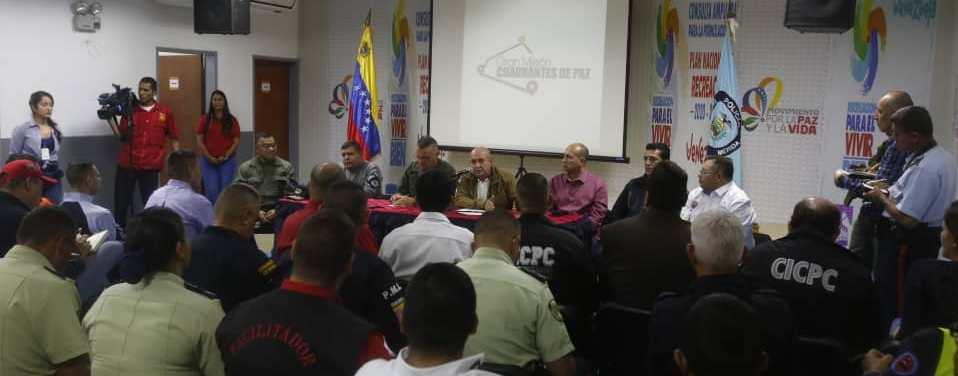 Mérida cuenta con Estado Mayor de la Gran Misión Cuadrantes de Paz