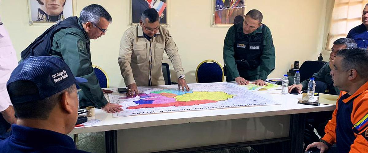 Gobierno nacional supervisa el despliegue de seguridad de la Divina Pastora