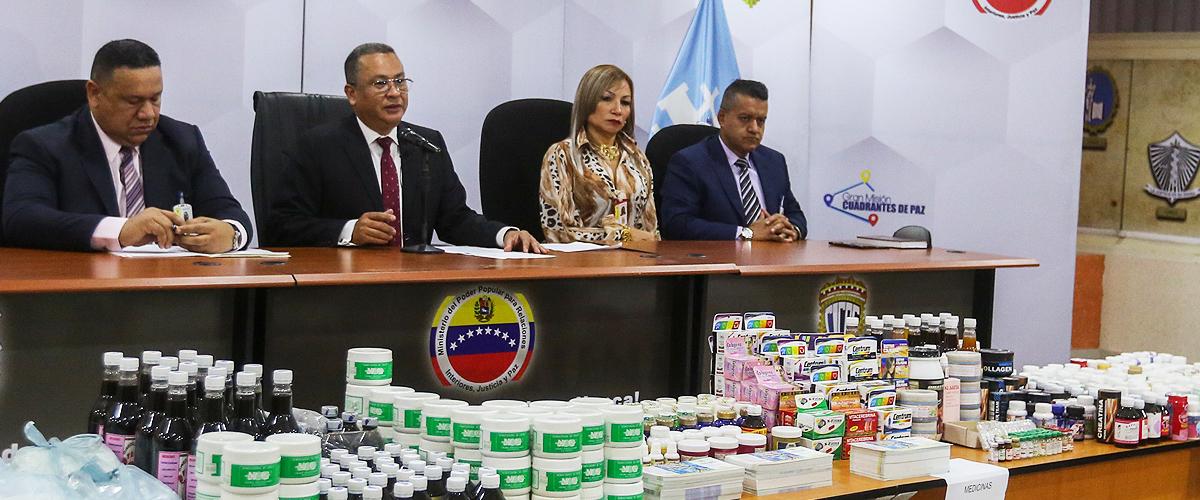 Cicpc incautó más de ocho mil medicinas falsas en Caracas
