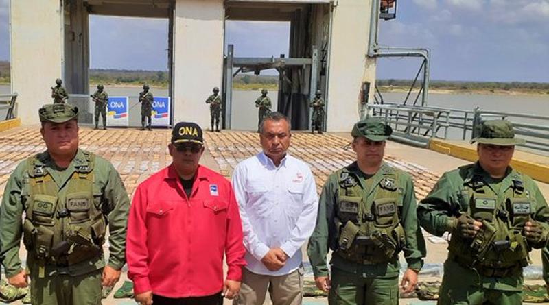 Detenidos cuatro colombianos con mil 775 panelas de marihuana en el estado Bolívar