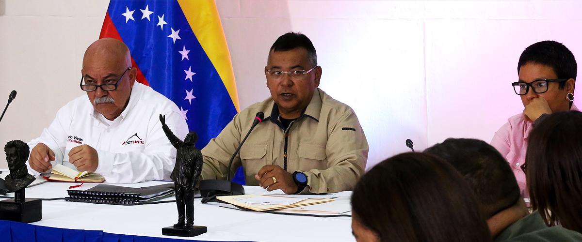 En 3 niveles se realizará plan para la transformación del servicio del agua potable en Caracas