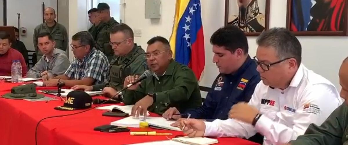 Ministro Reverol supervisó los Servicios Públicos en Mérida